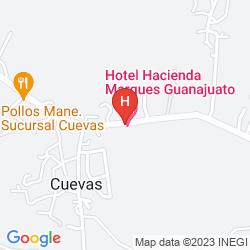 Karte EL MARQUES HACIENDA HOTEL