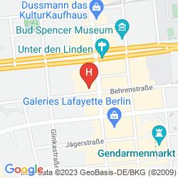 Karte THE WESTIN GRAND BERLIN