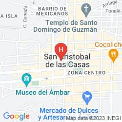 Karte POSADA EL PARAISO