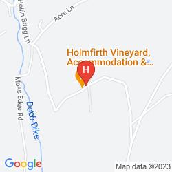 Karte HOLMFIRTH VINEYARD