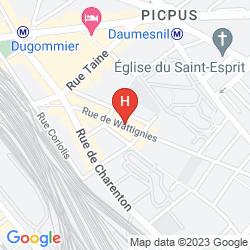 Karte PARIS BERCY