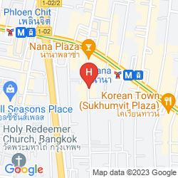 Karte NANA CITY INN