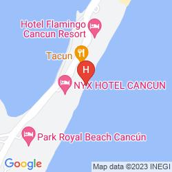 Karte AVALON BACCARA RESORT