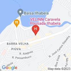 Karte CARAVELA POUSADA & VILLAS