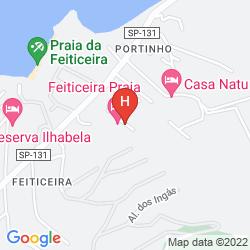 Karte FEITICEIRA PRAIA HOTEL
