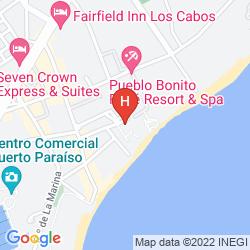 Karte MELIA SAN LUCAS