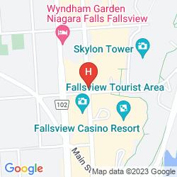 Karte EMBASSY SUITES BY HILTON NIAGARA FALLS - FALLSVIEW