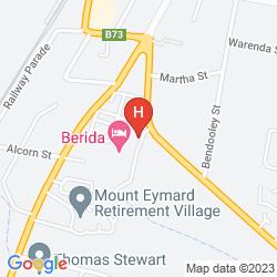 Karte BERIDA