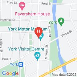 Karte SETTLERS HOUSE YORK