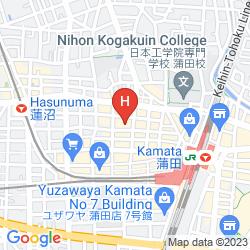 Karte URBAIN TOKYO HANEDA KAMATA