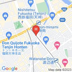 Karte RICHMOND HOTEL FUKUOKA TENJIN