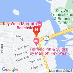 Karte LEXINGTON KEY WEST