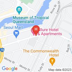 Karte ALLURE HOTEL & APARTMENTS