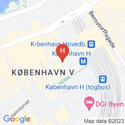 Karte GOOD MORNING+ COPENHAGEN STAR