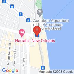 Karte HILTON NEW ORLEANS RIVERSIDE