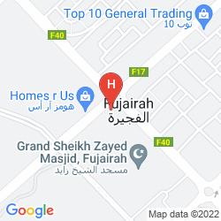Karte CONCORDE HOTEL FUJAIRAH BY ONE TO ONE