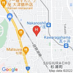 Karte GUESTHOUSE AN