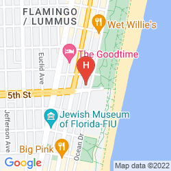 Karte BENTLEY HOTEL SOUTH BEACH