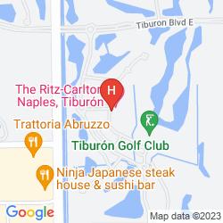 Karte THE RITZ-CARLTON GOLF RESORT, NAPLES