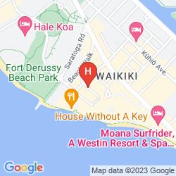 Karte WAIKIKI PARC HOTEL