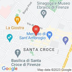 Karte ITACO FLORENCE APARTMENTS