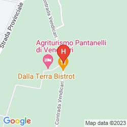 Karte PANTANELLI DI VENDICARI