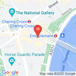 Karte CITADINES TRAFALGAR SQUARE LONDON