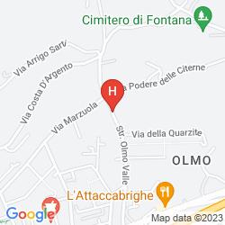 Karte RELAIS DELL'OLMO