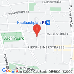 Karte AZIMUT HOTEL NUREMBERG