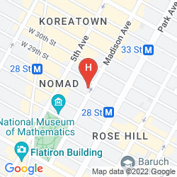 Karte THE JAMES NEW YORK - NOMAD