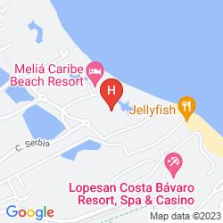 Karte THE LEVEL AT MELIA CARIBE TROPICAL - ALL INCLUSIVE