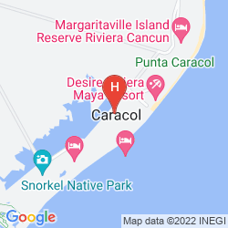 Karte BREATHLESS RIVIERA CANCUN RESORT & SPA - ALL INCLUSIVE
