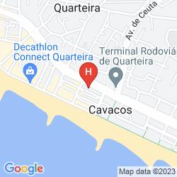 Karte GARVETUR QUARTEIRA MAR APARTMENTS