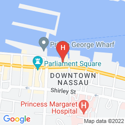 Karte HOLIDAY INN EXPRESS & SUITES NASSAU
