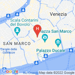 Karte ALBERGO SAN MARCO
