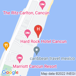 Karte BE LIVE GRAND CANCUN
