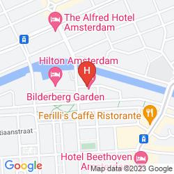 Karte BILDERBERG GARDEN HOTEL AMSTERDAM