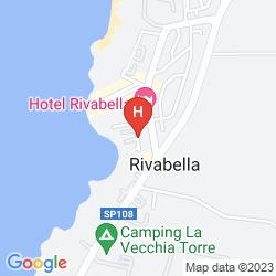 Karte CASE VACANZA RIVABELLA