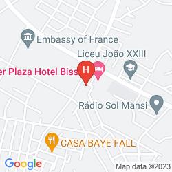 Karte LEDGER PLAZA BISSAU