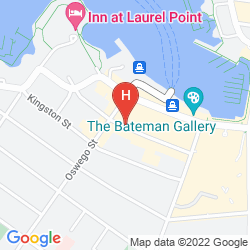 Karte BEST WESTERN PLUS INNER HARBOUR