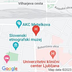 Karte BOUTIQUE HOTEL ASTERIA
