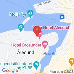 Karte BROSUNDET, AN ASCEND HOTEL COLLECTION MEMBER