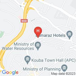 Karte AZ HOTEL KOUBA