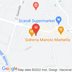 Karte GRAN HOTEL GUADALPIN BANUS