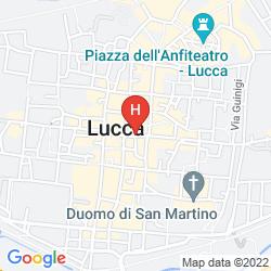 Karte LUCCA CHARM