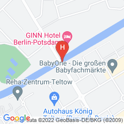 Karte COURTYARD BERLIN CITY CENTER