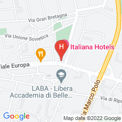 Karte ITALIANA HOTELS FIRENZE