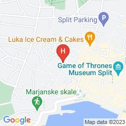 Karte HERITAGE PALACE VAROS