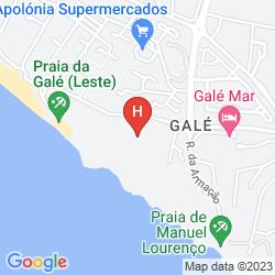 Karte VILA GALE ATLANTICO