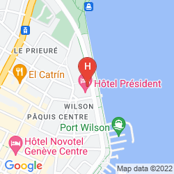 Karte PRESIDENT WILSON, A LUXURY COLLECTION HOTEL, GENEVA